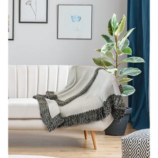 Jeté Teslin de LadySandra, 50po x 60po, multicolore (EA2)