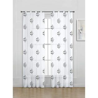 Lady Sandra Wexford Grommet Panels 54x95 White (EA2)