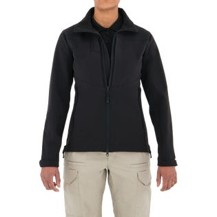 First Tactical Women's Tactix Series Softshell Jacket Black (EA1)