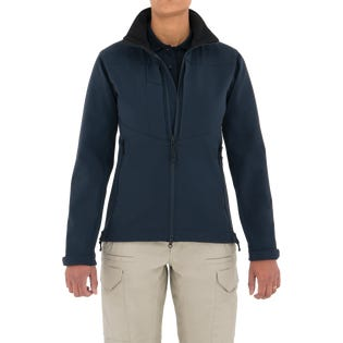 First Tactical Women's Tactix Series Softshell Jacket Navy (EA1)