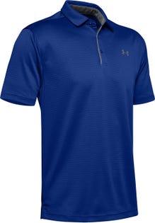 Under Armour Men's Tech Polo T-Shirt Blue