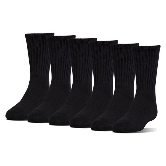 Under Armour Men's  Charged Crew Socks 6 Pack