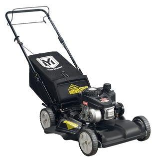 """Yard Machines Lawnmower 140CC 21"""" Rear Bag Mulch Black 12A-A255516"""