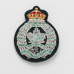 BC Regiment Écusson de blazer