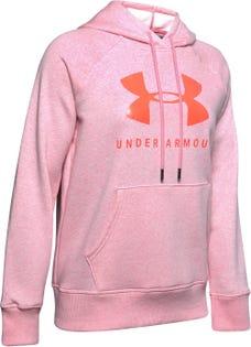 UNDER ARMOUR Women's Fleece Sportstyle Graphic Hoodie