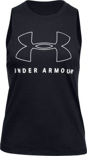 UNDER ARMOUR Women's Sportsstyle Graphic Muscle Tank Top