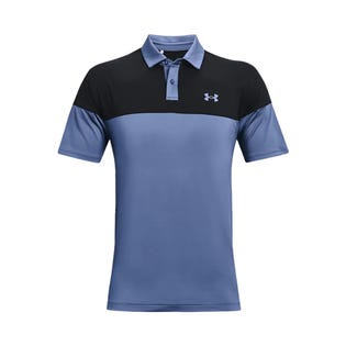 Under Armour Men's T2G Blocked Polo Mineral Blue