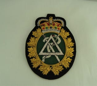 Dental Officer & CWO Badge
