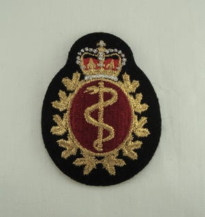 Medical NCM Cloth Cap Badge