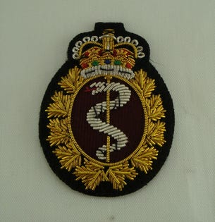 Medical Cap Badge (Officer)