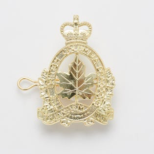 British Columbia Dragoons Cap Badge
