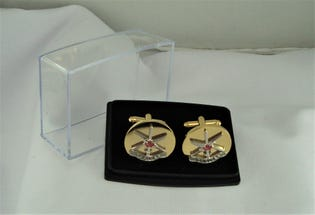 Public Affairs (NAVY) Cufflinks