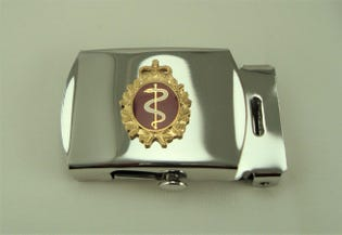 Medical Belt Buckle (silver)
