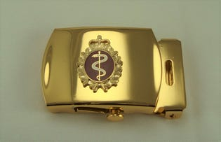 Medical Belt Buckle (gold)