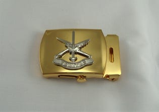 Public Affairs (NAVY) Belt Buckle