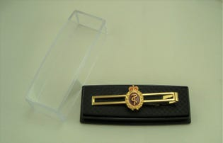 Medical Tie Bar Gold (Female)