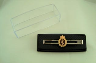 Medical Tie Bar Silver (Female)