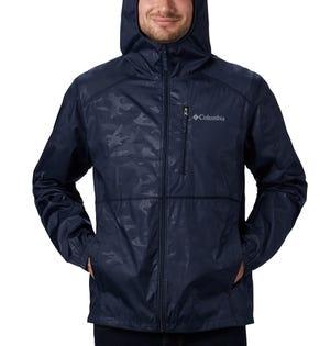 Columbia Men's Flash Forward Jacket Blue