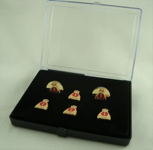 CANSOFCOM Stud and Cufflink Set