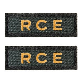 CME (GRC) Shoulder Titles