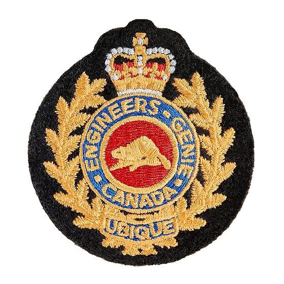 CME Cloth Cap Badge