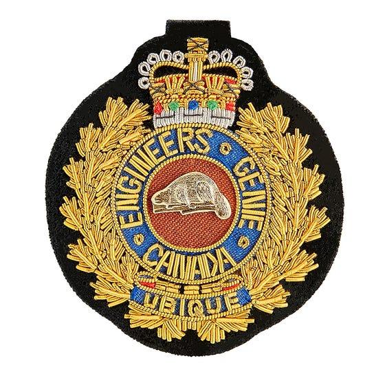 CME Composite Cap Badge