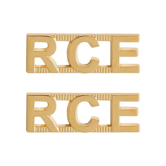 CME (GRC) Metal Shoulder Title
