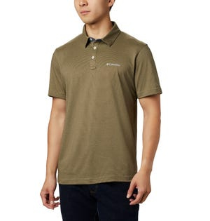 Columbia Men's Thistletown Ridge Polo Brown