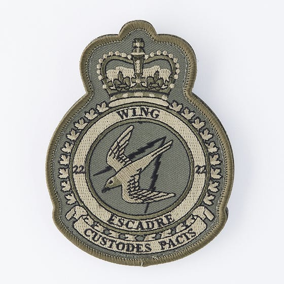 22 Wing badge (subdued)