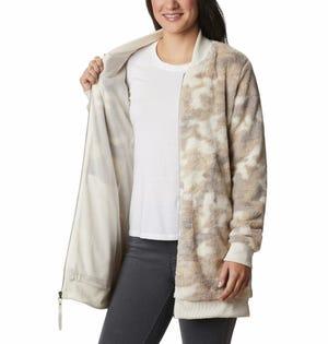 Columbia Women's Bundle Up Fleece Beige Camo