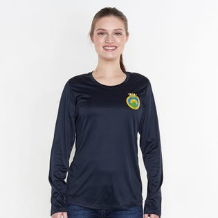 HMCS Malahat Women's Long Sleeve Dri Fit T-Shirt