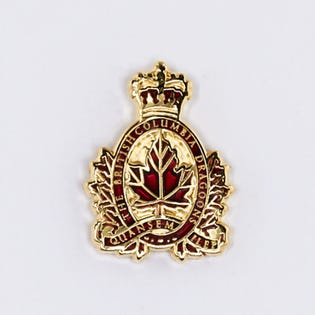 BC Dragoons Lapel Pin