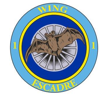 1 WING Sticker