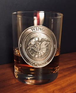 1 WING Whisky Glass