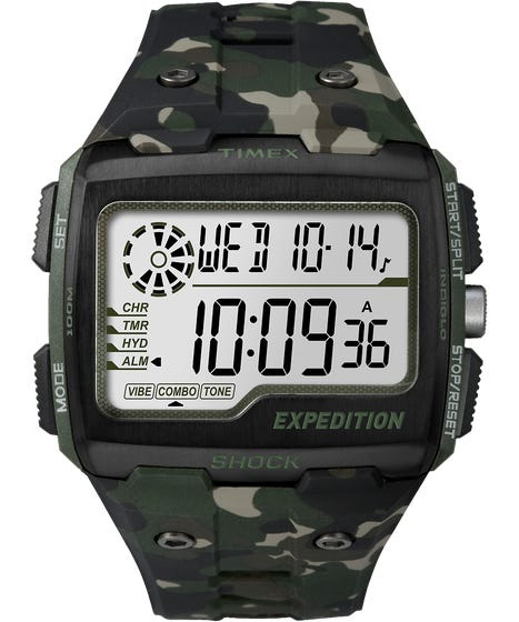 Timex Expedition Grid Shock Watch Camo (TW4B02900CS)