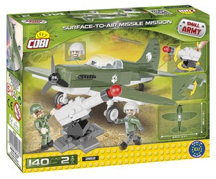COBI 140pcs Small Army 2162 Surface to Air Missile Mission