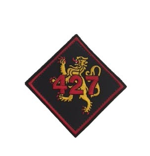 427 Sqn patch