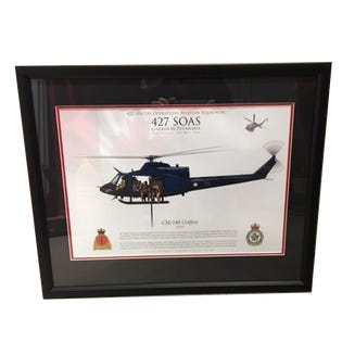 427 SQN Framed Lithograph