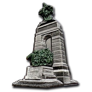 National War Memorial Pin