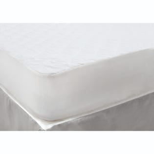Couvre-matelas pour très grand lit Park Jones de LadySandra, blanc (EA2)