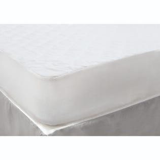 Couvre-matelas pour lit à deux places Park Jones de LadySandra, blanc (EA2)