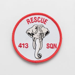 413 Squadron Rescue Patch