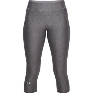 Under Armour Women's Heat Gear Capri Grey