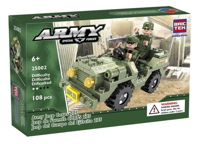 Bric Tek Army Jeep Corps