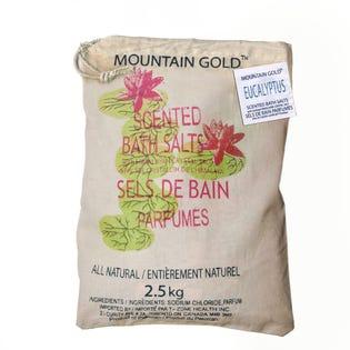 Sels de bain de l'Himalaya à arôme d'eucalyptus MountainGold, paquet de 2 (EA1)