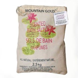 Sels de bain de l'Himalaya à arôme de lavande MountainGold, paquet de 2 (EA1)