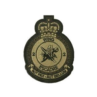 2 Wing Low Viz Badge
