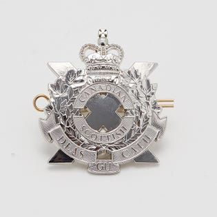 C Scot R Cap Badge