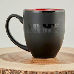 Tasse à café en céramique de l'Armée