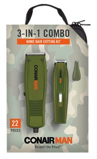 Conair 3-in-1 Combo Hair Cutting Kit